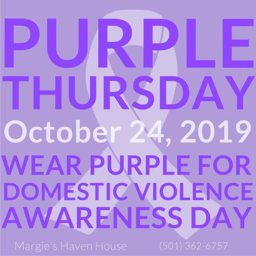 Purple Thursday - Domestic Violence Awareness Day