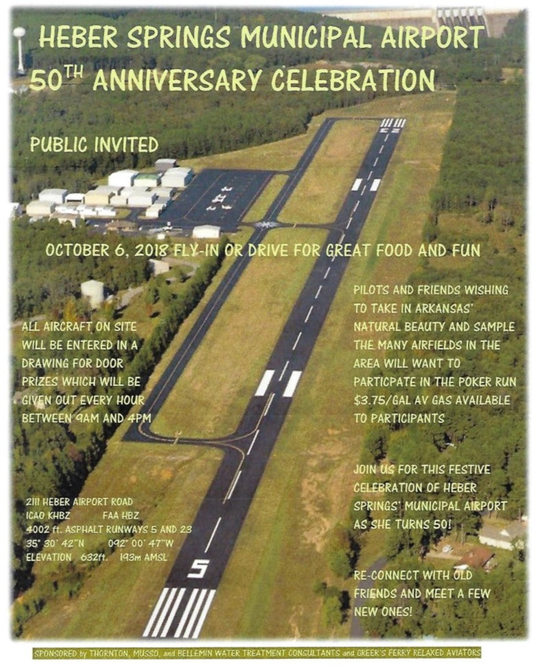 Heber Springs Municipal Airport 50th Anniversary