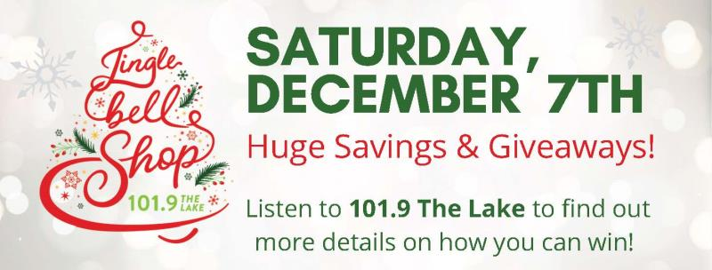 101.9 The Lake's Jingle Bell Shop!