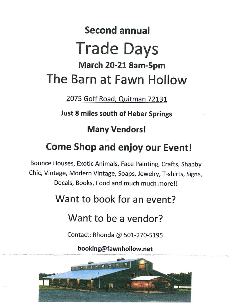 2nd Annual Trade Days